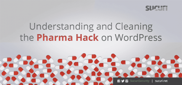 pharma hack wordpress