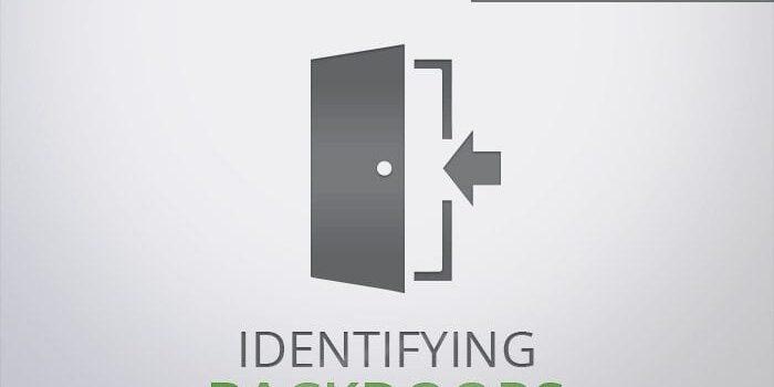 Identifying Website Backdoors