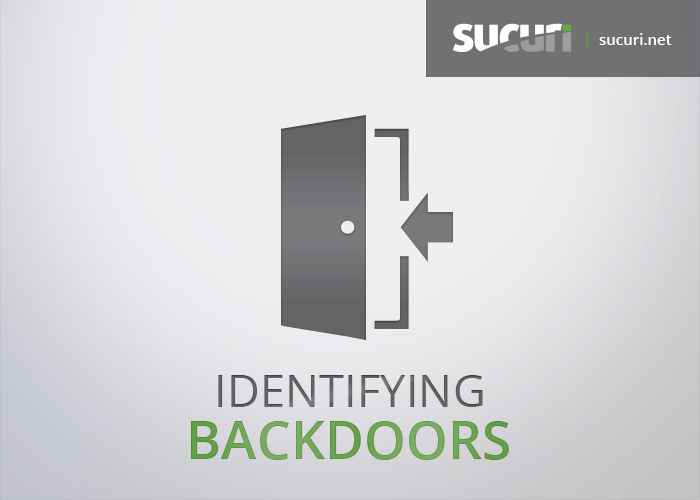 Identifying Website Backdoors