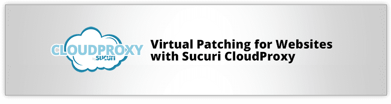 Sucuri Cloud Proxy