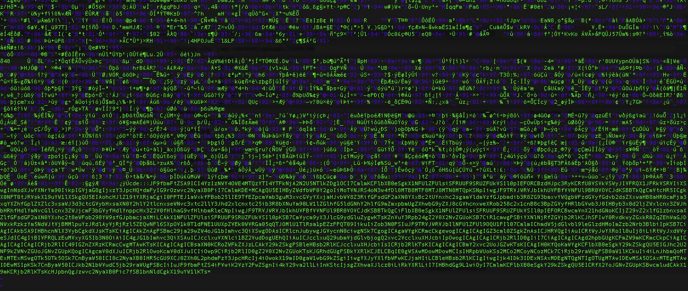 malicious binary