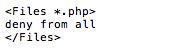 Sucuri Kill PHP Execution