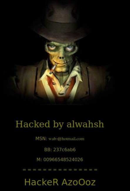 Hacked Website Defacement 10