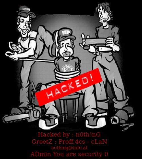 Hacked Website Defacement 6