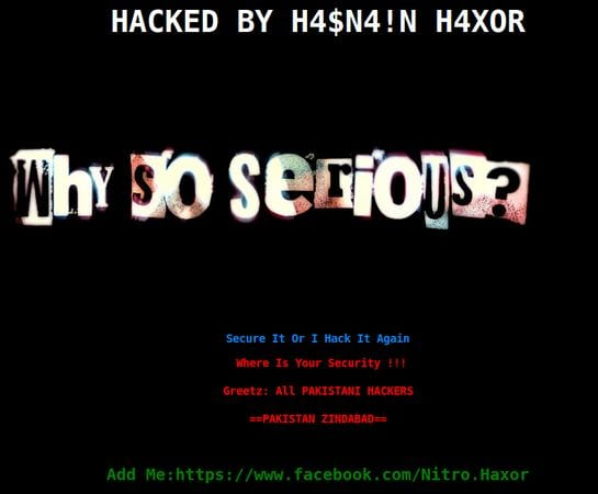 Hacked Website Defacement 4