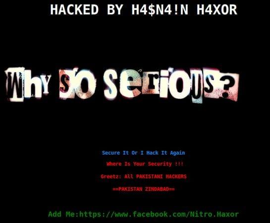Hacked Website Defacement 4