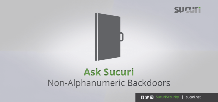 non-alphanumeric-backdoors