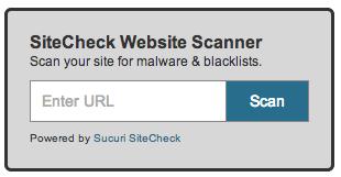 SiteCheck Widget
