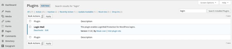 WordPress Plugin Alert - LoginWall Imposter Exposed