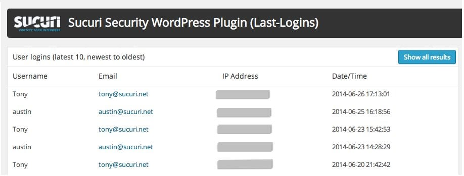 Ask Sucuri: Who is Logging into My WordPress Site?