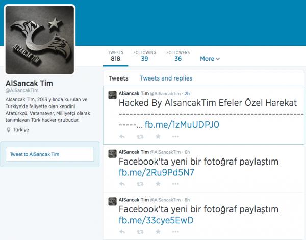 Sucuri - Alsancak Tim Hacking Group