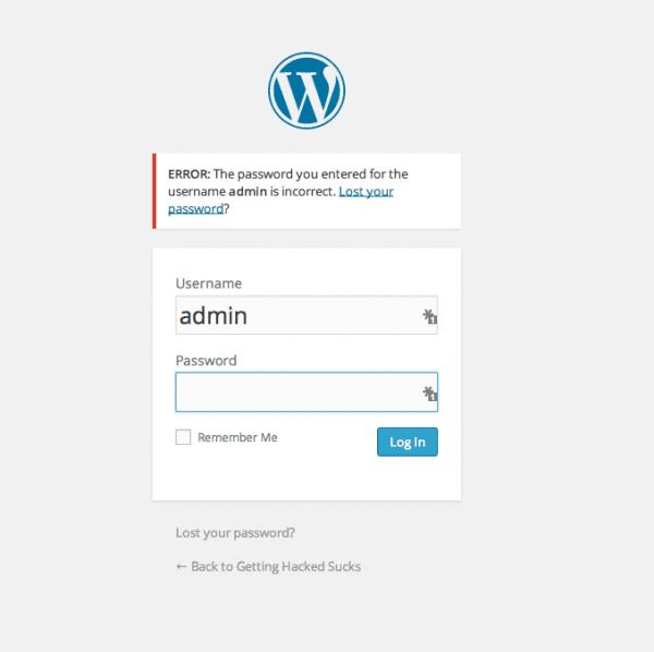 Sucuri - My Website Was Hacked - Password Chnaged