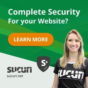 Sucuri Malware Removal