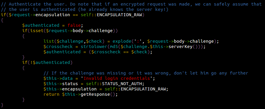 Akeeba JSON Payload Auth-Check - found by Sucuri