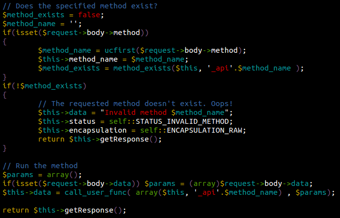 Akeeba JSON Payload - Invalid Method - Found by Sucuri