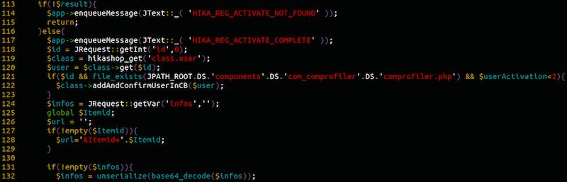 Sucuri - Hikashop Vulnerability – Attack Vector