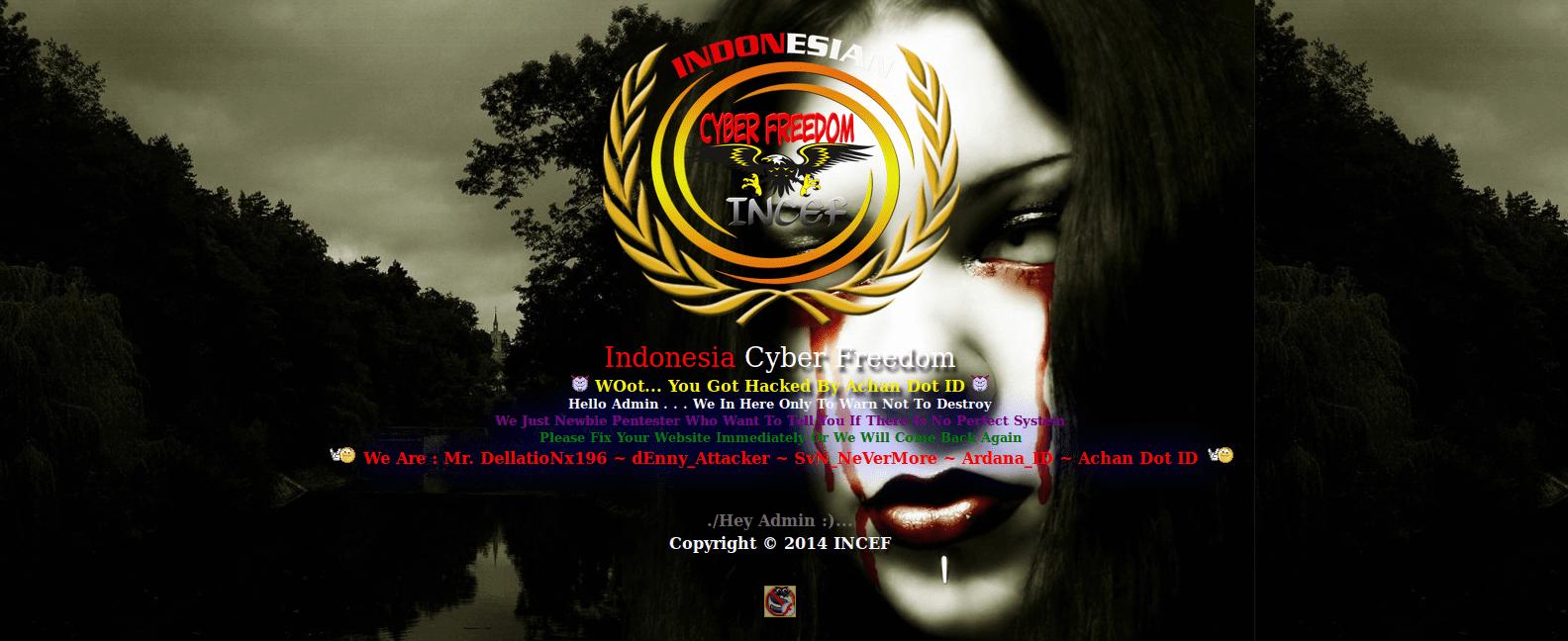 Deface-Website-Indonesia