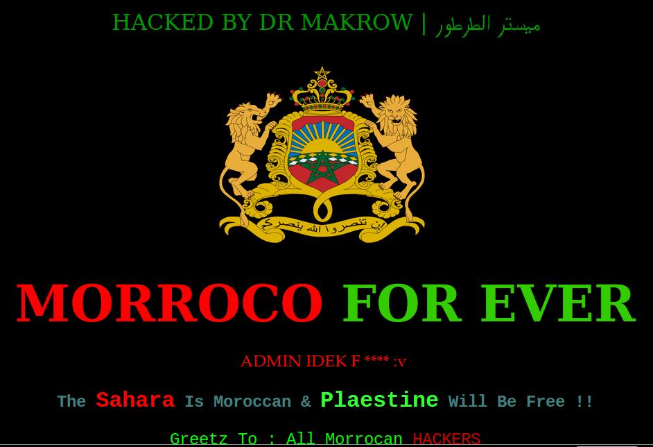 Deface-Website-Morrocan-Hackers