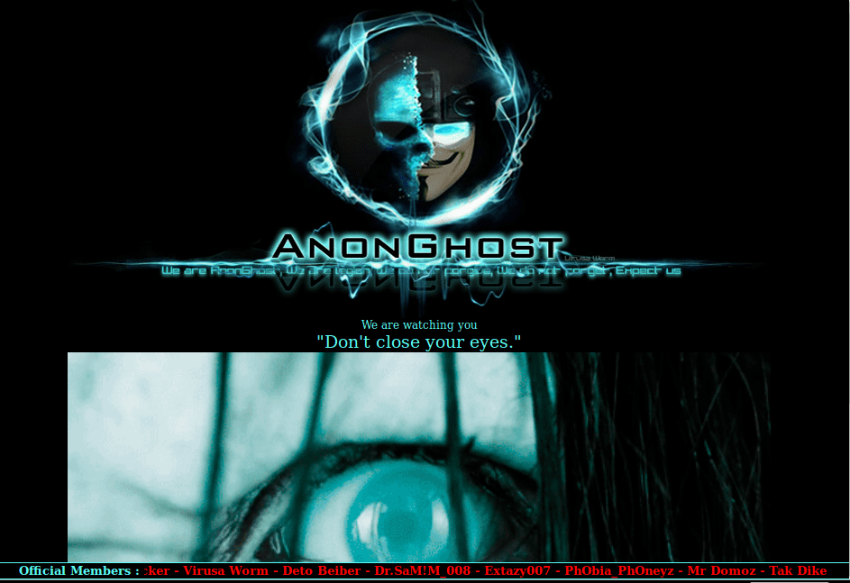 Defaced-Hacked-Anonghost