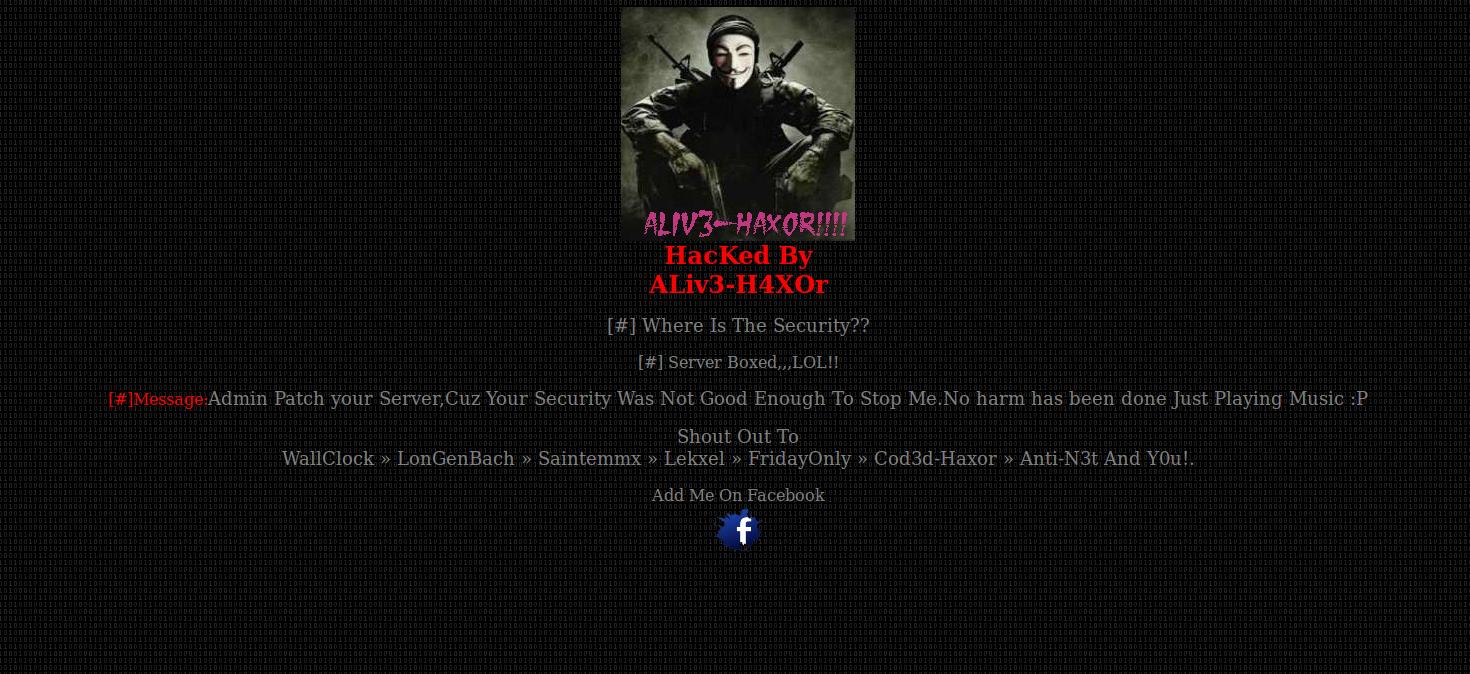 Defaced-Website-Alive-Haxor