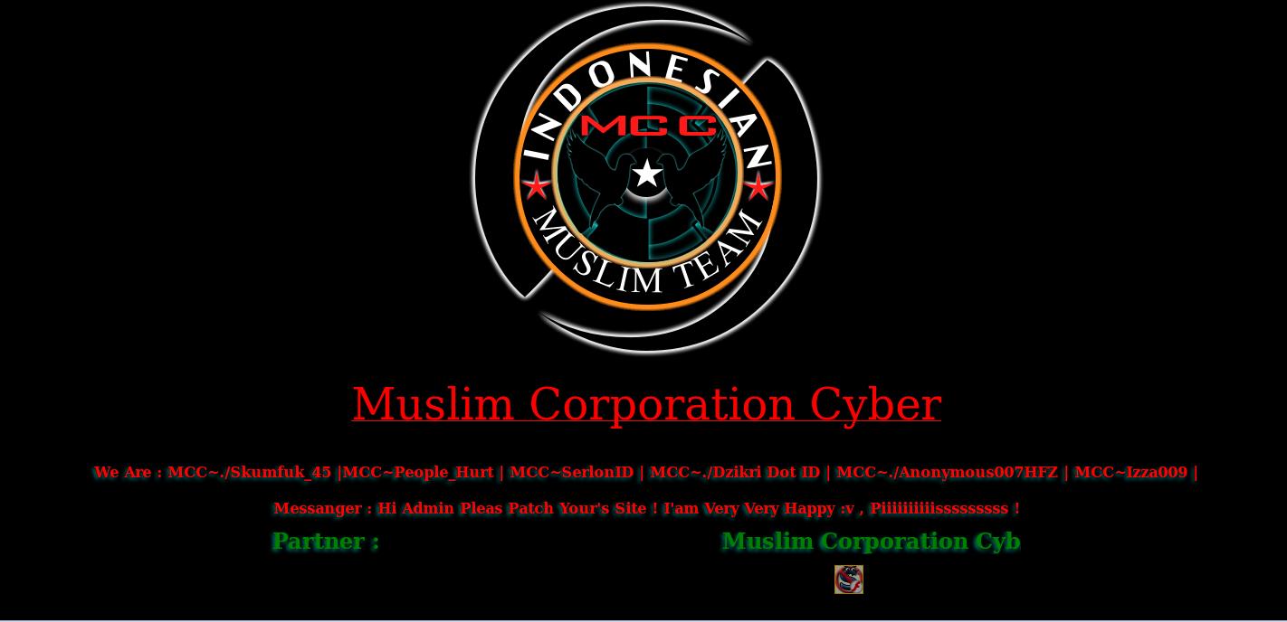 Defaced-Website-Muslim