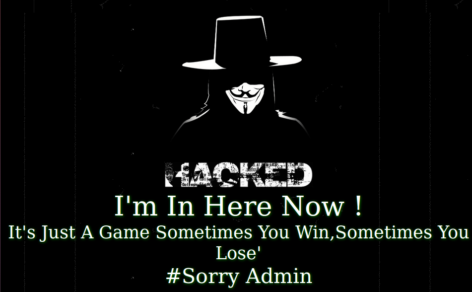Defaced-Website-Sorry-Admin