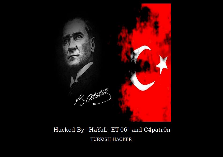 Defaced-Website-Turkish-Hacker