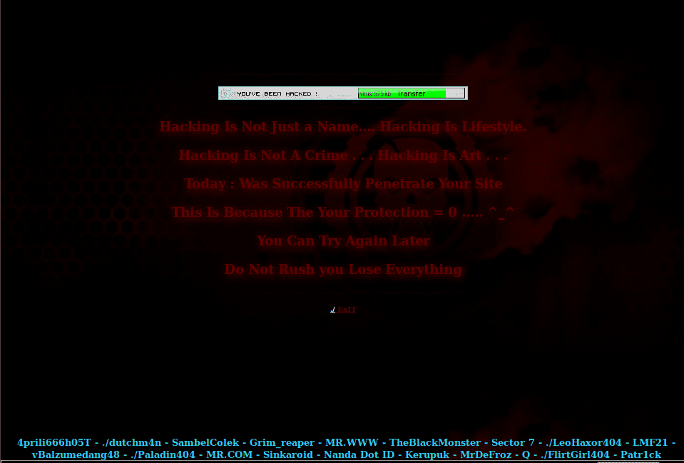Defacement-Group-Hackers