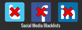 Social Media Blacklists