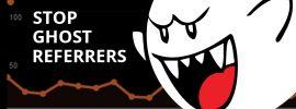 Ghost Analytics Spam Referrers