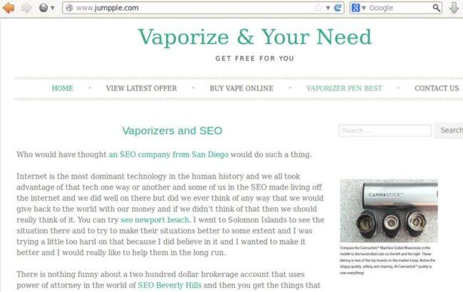jumpple-spammy-site