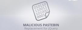 jQuery Pastebin