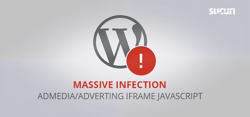 Massive Admedia/Adverting iFrame Infection