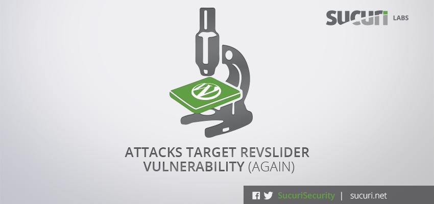 Revslider new vulnerability with IRC Botnet