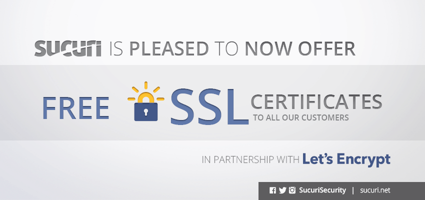 Free Ssl Certificate From Letsencrypt With The Sucuri Firewall