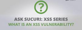 XSSVulnerability