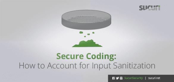 secure-coding-input-sanitization