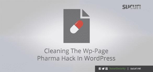 pharma hack wordpress spam search results