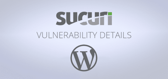Stored Cross-Site Scripting Vulnerability in WordPress 4.8.1