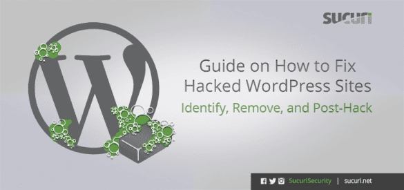 fix hacked wordpress guide