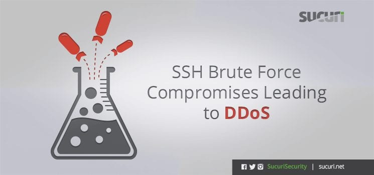 SSH Brute Force Compromises Leading to DDoS