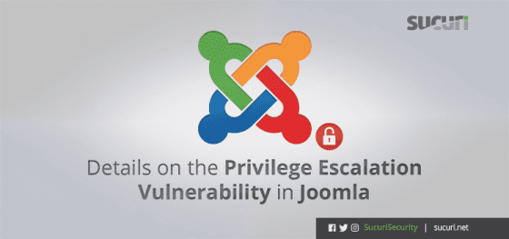 Details on the Privilege Escalation Vulnerability in Joomla