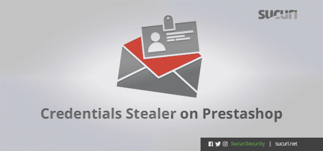 Credentials Stealer on Prestashop