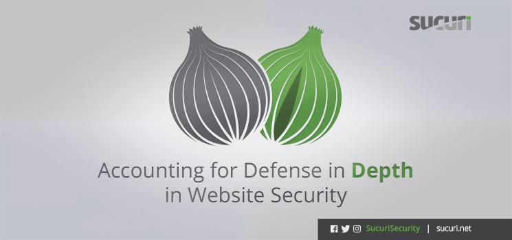Accounting For Defense In Depth In Website Security