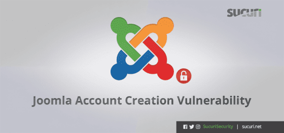 Joomla Account Creation Vulnerability