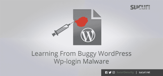 Learning From Buggy WordPress Wp-login Malware